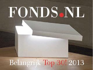 Fonds.nl – Belangrijk Top 30!
