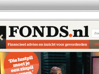 Fonds.nl – Website