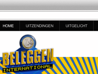 Beleggen International – Website