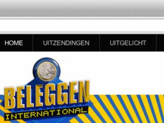 Beleggen International – Website